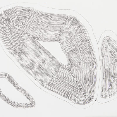 emocture #2, 2014. ink on archival paper, 17.7x14.5cm / 7x5.7in 2 of 25