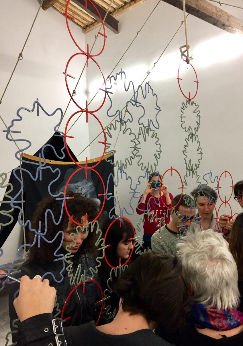 Album Arte – Campo Grossi Maglioni workshop