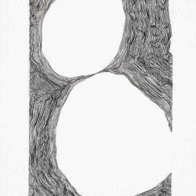 Bolle, studio #3 – inchiostro su carta - 2016 - 20.5x15cm