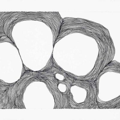 Bolle, studio #7 – inchiostro su carta – 2016 – 15x20.5cm