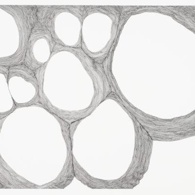 Bolle, studio #13 – inchiostro e gouache su carta museale. 56x76cm – 2017